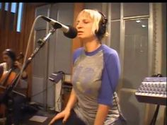 Sia - Breathe Me (KCRW 2007). I really love this song and particular performance.