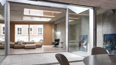 These architectural reference projects show how Sky-Frame's window systems combine creative architecture with the feeling of living at the heart of nature. Creative Architecture, Window Design, Design Reference, Switzerland, Windows, Sky, Frame, Projects, Furniture