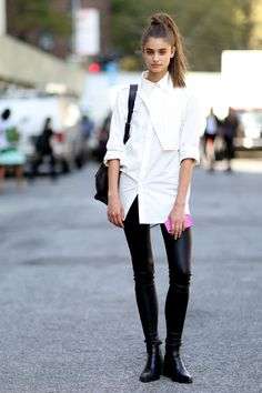Taylor Marie Hill - New York Fashion Week Spring 2015, day 1.