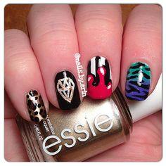 Nails for Talia Joy Castellano #prayfortalia