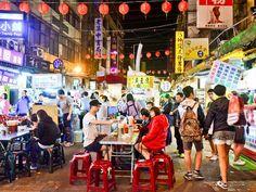 A Foodie's Guide to Taipei's Night Markets. #Taiwan #Taipei #nightmarket