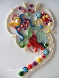 Quilling-task number 2 - Abstract