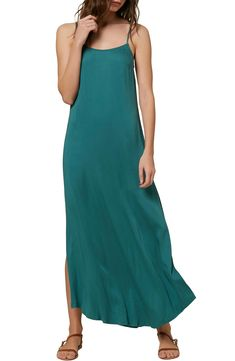 O'Neill Koko Maxi Dress | Nordstrom Roll Neck Top, Flounce Bikini, Taffeta Dress, Bodycon Dress Parties, 98, Plus Size Blouses, Nordstrom Dresses, Women Swimsuits, Fashion Dresses