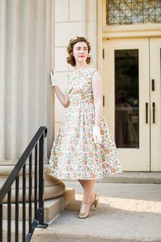 Vintage Butterick 8038 (and also a mini-introduction!)