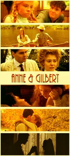 Anne Shirley +  Gilbert Blythe = Amazing love story.