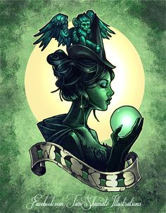The Wicked Witch - Timothy John Shumate Found it on a disney board, but thought it suited the season 3b villian from once upon a time.