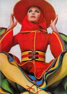 Photo by David Bailey for Vogue UK, 1968.
