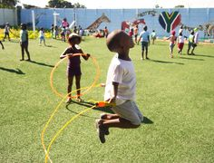 Project Playground // Project Playground arranges after-school activities for children, in order to improve their self-esteem and provide meaningful programmes.