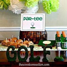 Golf Par-Tee | The Wood Connection Blog