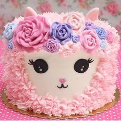Likes, 71 Kommentare - Ideen und Partys auf In . Baby Cakes, Cupcake Cakes, Dog Cakes, Pretty Cakes, Cute Cakes, Gateau Harry Potter, Lamb Cake, Animal Cakes, Gateaux Cake