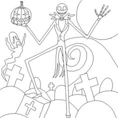 Free Printable Coloring Pages Of Jack Skellington Ariel Coloring Pages, Princess Coloring Pages, Free Coloring Sheets, Coloring Pages To Print, Free Printable Coloring Pages, Coloring Pages For Kids, Coloring Books, Adult Coloring, Tim Burton Art