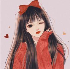 Anime Girl Pink, Dark Anime Girl, Manga Anime Girl, Cool Anime Girl, Anime Girl Drawings, Beautiful Anime Girl, Cartoon Drawings, Cartoon Girl Images, Girl Cartoon