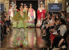"""Desfile """"Una Feria en la Memoria"""" de Pepa Garrido en We Love Flamenco 2014"""