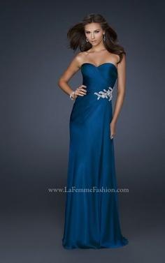 Vestidos de Fiesta 2012. Principales Tendencias. Coleccion La Femme Fashion.