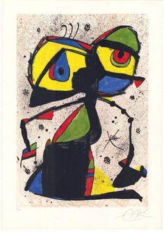 Joan Miro ~ #art #arts #Painting #finearts
