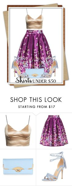Skirts Under $50 by deskaj on Polyvore featuring Dorothy Perkins, New Look, under50 and skirtunder50