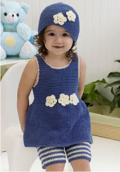 Free Crochet Pattern: Darling One-Piece Romper | WIPs 'N Chains