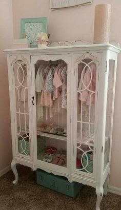 Upcycled China Cabinet Display                                                                                                                                                                                 More