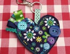 Super cute key chains via Polka at Luulla