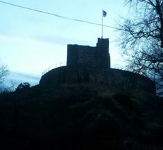 Clitheroe Castle in Clitheroe, Lancashire