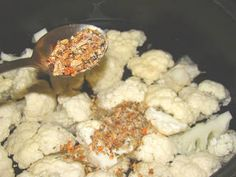 Tepsis csirkemell recept karfiollal   Antukné Ildikó receptje - Cookpad receptek Cauliflower, Vegetables, Food, Kitchen, Cuisine, Cauliflowers, Meal, Head Of Cauliflower, Veggies