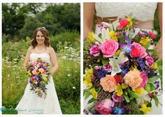 Flower Mania cascading colourful bouquet Wedding Bouquets, Wedding Dresses, Beautiful Bouquets, Most Beautiful, Flowers, Color, Collection, Fashion, Bride Dresses