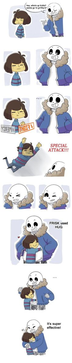 AH I LOVE THEM SO MUCH #Undertale#Frisk#Sans: