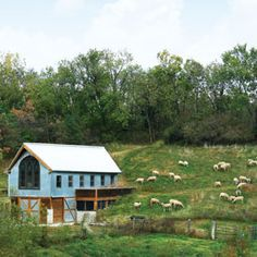 Two doctors launch a sustainable farm outside Kansas City, complete with a modern farmhouse and a barn for farm-to-table events.