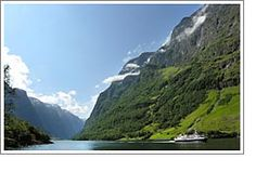 Rosendal (Fjords), Norway - WOW! now this is a place to get a way and see the most spectacular sights of nature!!! I want to go back! (witnessed 17 February 2008)