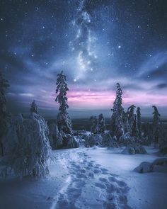 Milky Way, Lapland Finland. Photo credit: Hietanen Hämäläinen #milkyway #finland pic.twitter.com/dcLKeBnCIa