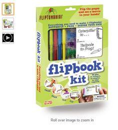 Flipbook Kit - Butterfly & Frog $13.84