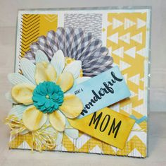 Mother's Day card using Honey Bee Stamps