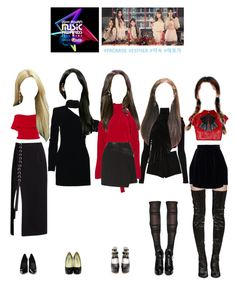 Promise performing at MAMA by promise-official on Polyvore featuring polyvore, fashion, style, Yves Saint Laurent, Juan Carlos Obando, Y/Project, N°21, Reem Acra, Vivienne Westwood Red Label, Chloé, Diane Kordas, Jimmy Choo, Alaïa, AlexaChung, Brian Atwood, Giuseppe Zanotti, Jacquie Aiche, Anissa Kermiche, clothing, promise, awardshow, performance and kpopinspired