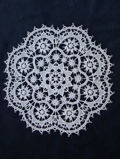Pag Lace ... made using a needle - not hook... but needle. someday i shall make one.