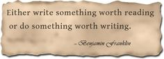 Inspiration for writers. #inspiration