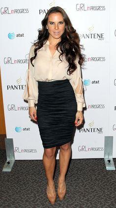 Kate Del Castillo Pencil Skirt - Kate Del Castillo Looks - StyleBistro