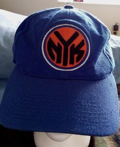 new style 94328 2a143 Vintage Authentic New York Knicks NBA Hat Cap Authentic Adjustable Wool  Acrylic  NBA  BaseballCap