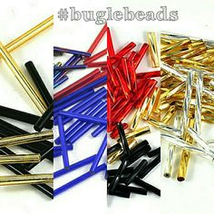 I have lots of bugle beads including twisted bugles which are great for jewellery design, costume design, bunting and a wide array of craft projects They are available now in my Etsy shop Bead Store, Bugle Beads, Jewelry Design, Unique Jewelry, Costume Design, Bunting, Jewelry Crafts, Craft Supplies, Craft Projects