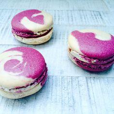 Macarons! Mein erster Backkurs. Schön war's! #macarons #lecker #Backkurs #goldhahnsampson #sonntag #prenzlauerberg | Marble Macarons