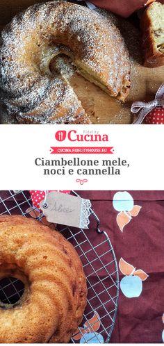 Ciambellone #mele, #noci e #cannella della nostra utente Alice. Unisciti alla nostra Community ed invia le tue ricette!