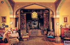 NOW AND THEN: Historic Hudson Valley House Olana and the Persian Look « Decor Arts Now