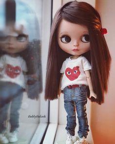 - Olivia - #blythe #blythedoll #blythecustom #blythestagram #customdoll #doll #dolls #dollstagram #dollphotography #mygirls❤