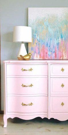 136 best pink painted furniture ideas images chalk paint furniture rh pinterest com