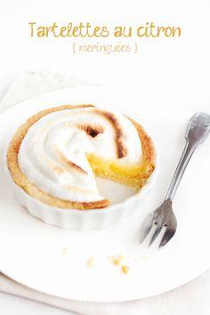 Cro'K'Mou - Blog culinaire - Food & Photography: Tartelettes au citron meringuées