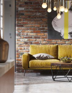 New project for office spaces loft style – Office Design 2020 Interior Design, House Interior, Home Decor Furniture, Brick Living Room, Home, Loft Design, Home Office Decor, Home Decor, Furniture Decor