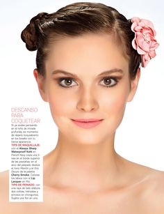 ¡Descanso para coquetear! #Back2School15a20 #15a20 #makeup #maquillaje #hairstyle #peinado #flowers #flores