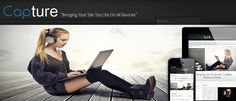 joomla template for photographer, online business consultant, blogger etc.