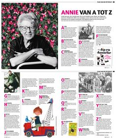 Annie MG Schmidt week Editorial design KRO Magazine