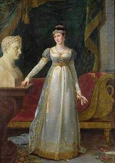 Pauline Bonaparte, princesse Borghèse, duchesse de Guastalla  par Robert Lefevre.