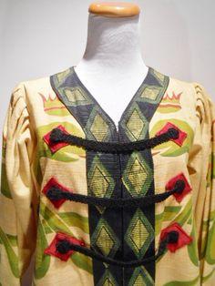Vintage Opera Coat For The Chinese Opera Lady White Snake, c. 1980